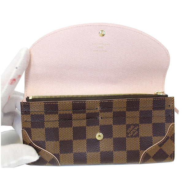Louis Vuitton Caissa  - Lv Damier Ebene Wallet - shop