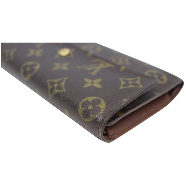 louis Vuitton Porte Tresor International Wallet - left side view