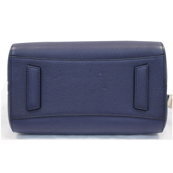 GIVENCHY Antigona Small Goatskin Leather Shoulder Bag Blue - 15% OFF