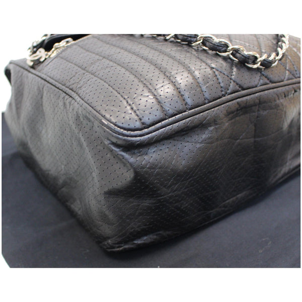 Chanel Calfskin Perforated 50's Bowler Bag - for women