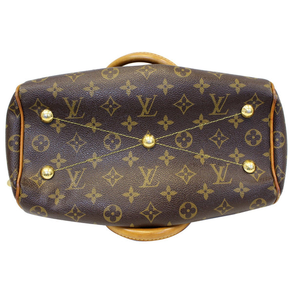 Louis Vuitton Tivoli PM Monogram Canvas Hand Bag Base