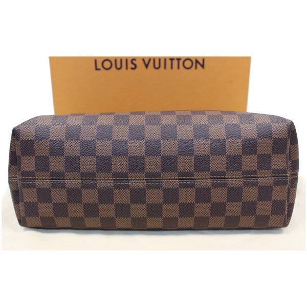Louis Vuitton Graceful PM Damier Ebene Shoulder Bag bottom view