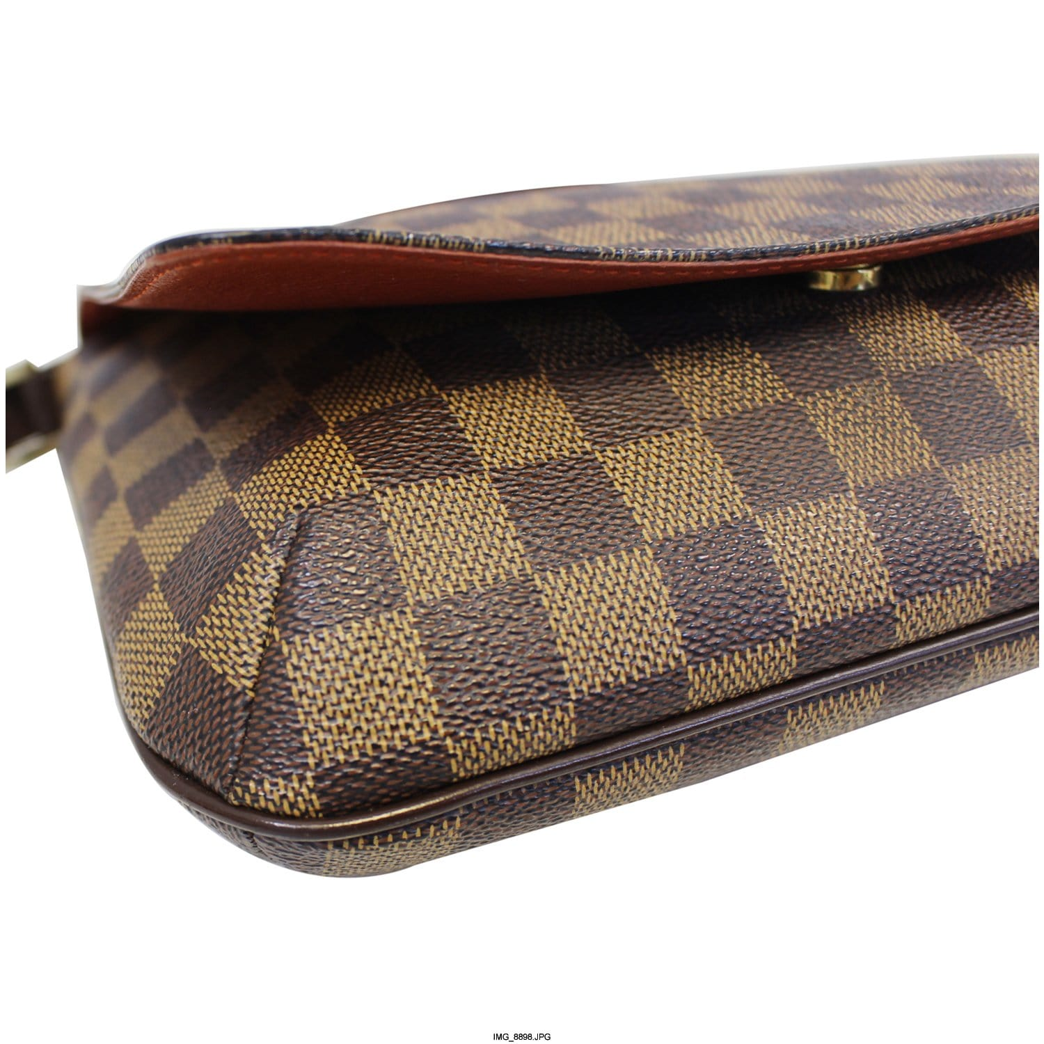 8e3baa10c733 LOUIS VUITTON Musette Tango Damier Ebene Short Strap Shoulder Bag-US