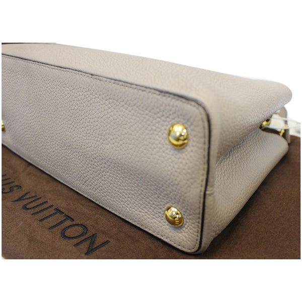 Louis Vuitton Capucines PM Taurillon Leather Shoulder Bag for women
