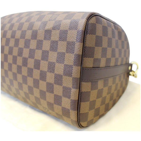 Louis Vuitton Speedy 30 Patches Damier Ebene Bag Seams