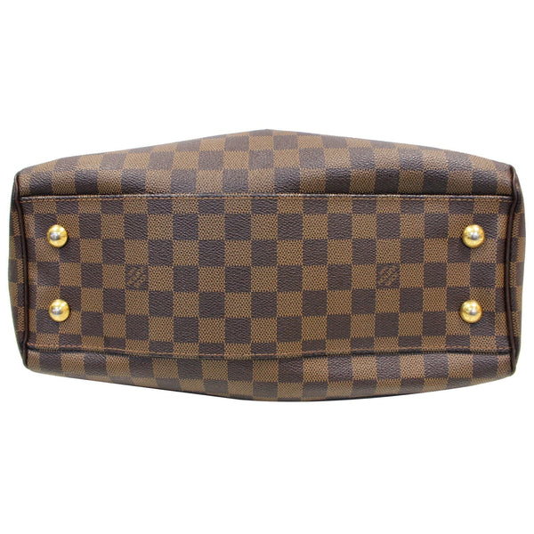 LOUIS VUITTON Trevi PM Damier Ebene Shoulder Bag Brown