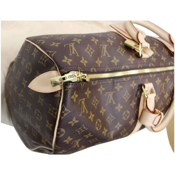 LV Keepall 55 Monogram Canvas Bostan Bag with straps