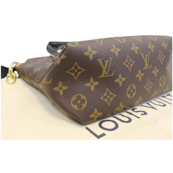 Louis Vuitton Flower Tote Zipped PM Monogram Shoulder Bag - corner