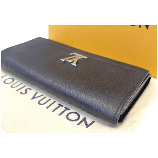 lv Lockme II Calfskin Leather Hand Pouch Women