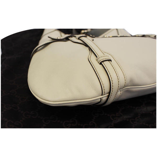 Gucci 85th Anniversary Horsebit Leather Hobo Bag - left view