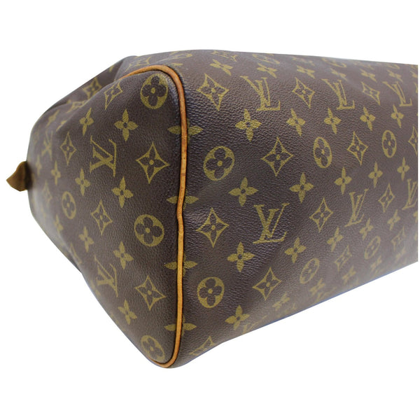 Louis Vuitton Speedy 35 - Lv Monogram - Lv Satchel Bag - leather