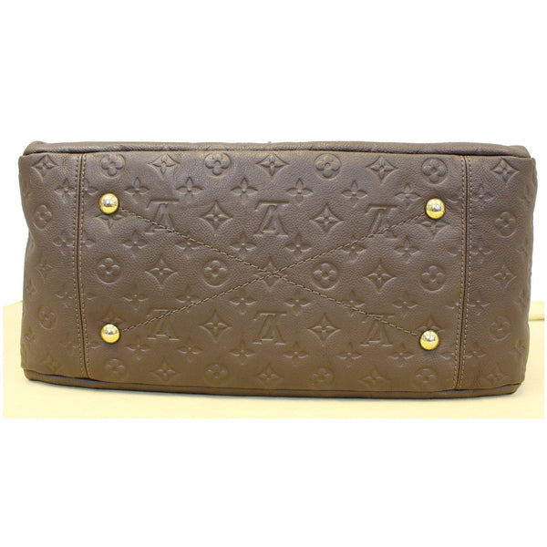 Louis Vuitton Artsy MM Empreinte Leather Bag bottom