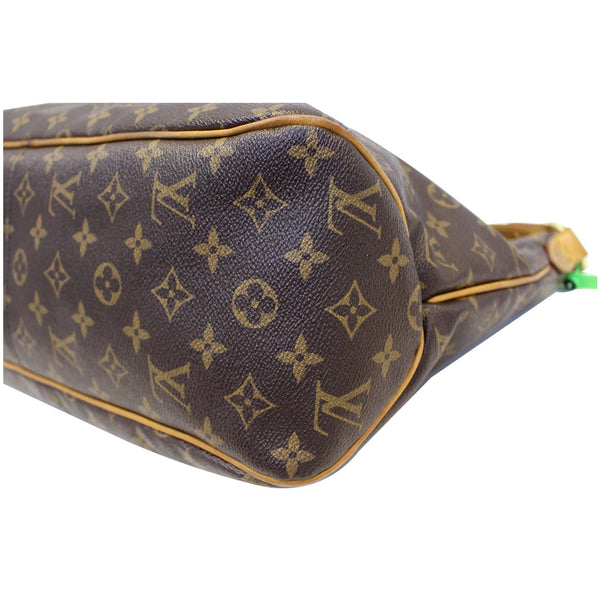 Louis Vuitton Delightful MM Monogram Tote Bag - bottom view