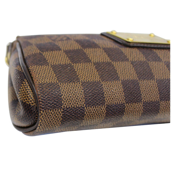 Louis Vuitton Pochette Eva - Lv Eva Clutch Damier Ebene Bag