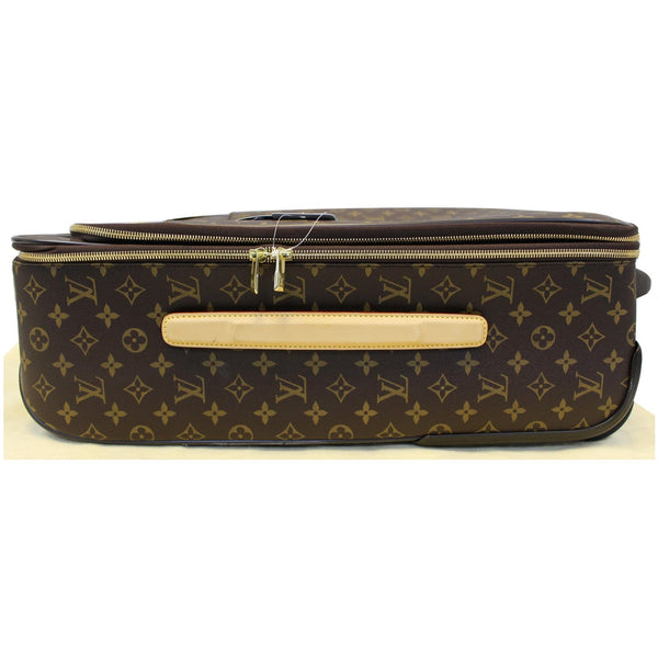LOUIS VUITTON Pegase Legere 55 Monogram Canvas Business Suitcase Bag-US