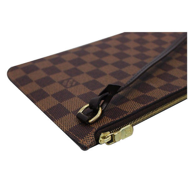 Louis Vuitton Pochette Wristlet Neverfull MM Pouch corner view