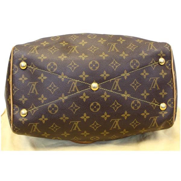 Louis Vuitton Tivoli GM Monogram Canvas Bag Bottom