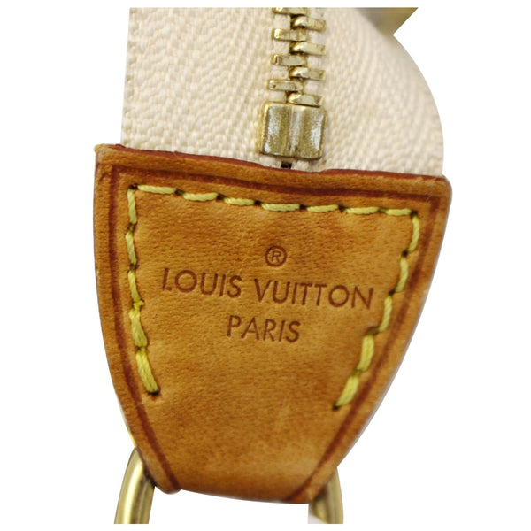 LOUIS VUITTON Damier Azur Eva Clutch Crossbody Bag-US