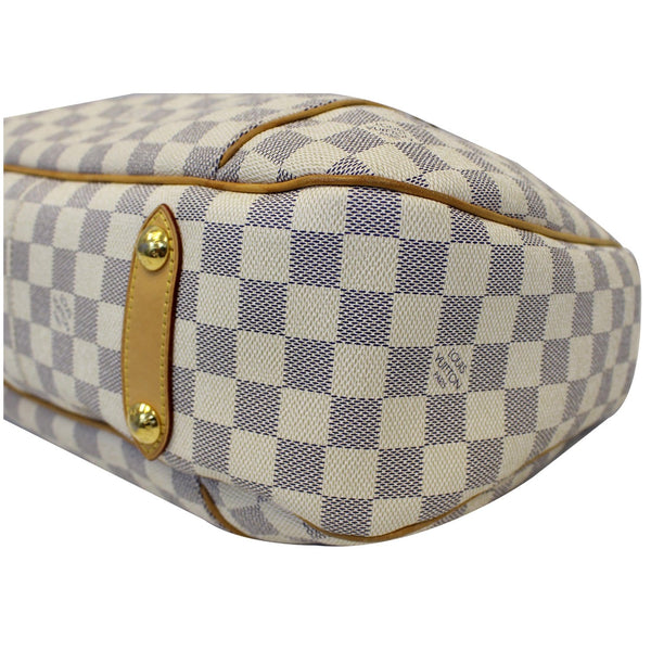 Louis Vuitton Galliera PM Damier Azur white - right side view