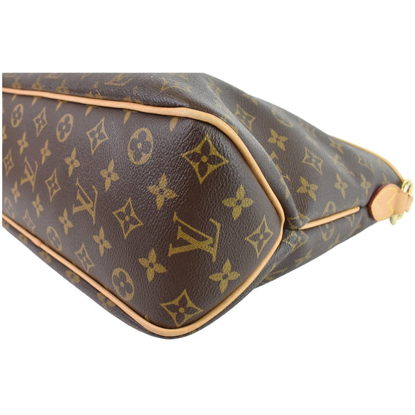 lv Delightful PM Monogram Canvas Hobo Bag close view