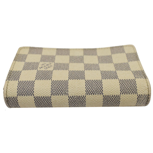 Louis Vuitton Zippy Damier Azur Wallet White - for women