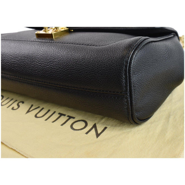 used LV St Germain MM Monogram Leather Bag Black