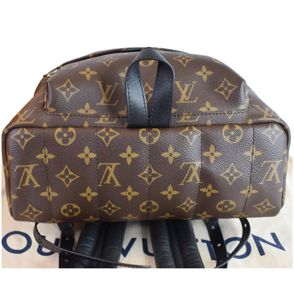 LOUIS VUITTON Palm Springs MM Monogram Canvas Backpack Bag Brown