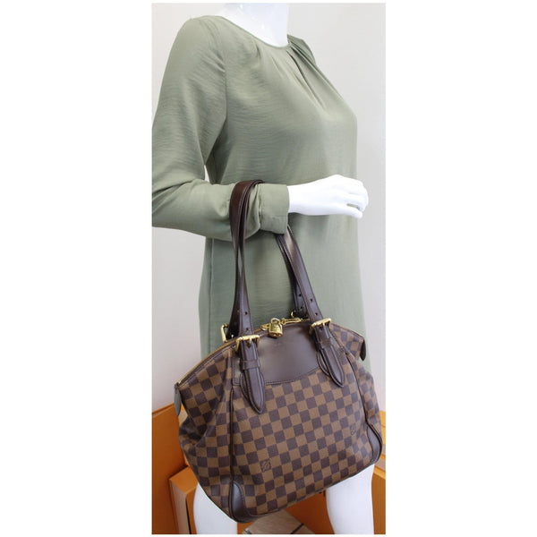 Louis Vuitton Verona MM Damier Ebene Handbag