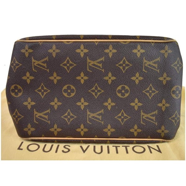 Louis Vuitton Batignolles Vertical Monogram Canvas Bag - plain bottom