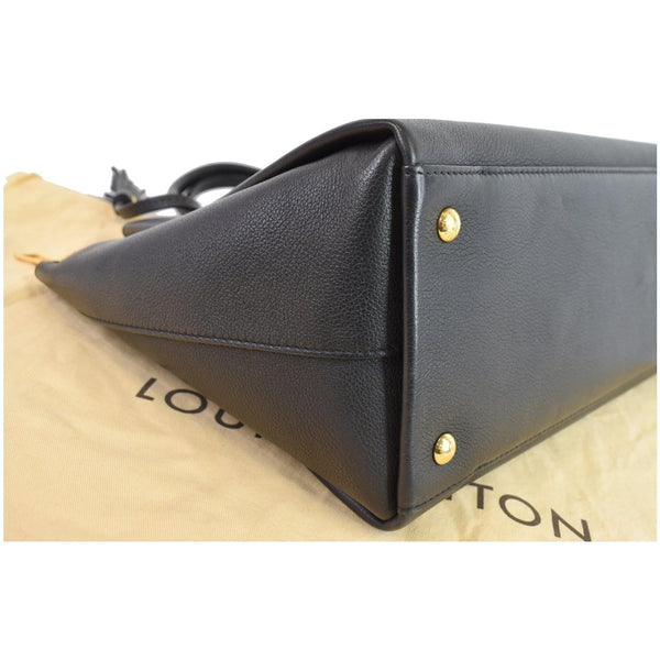Louis Vuitton Lockmeto Tote Bag Black bottom