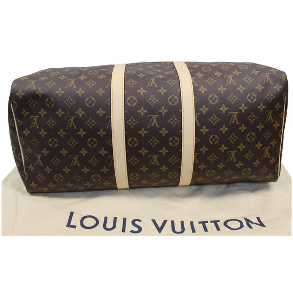 LV Keepall 55 Monogram Canvas Bostan Bag back view
