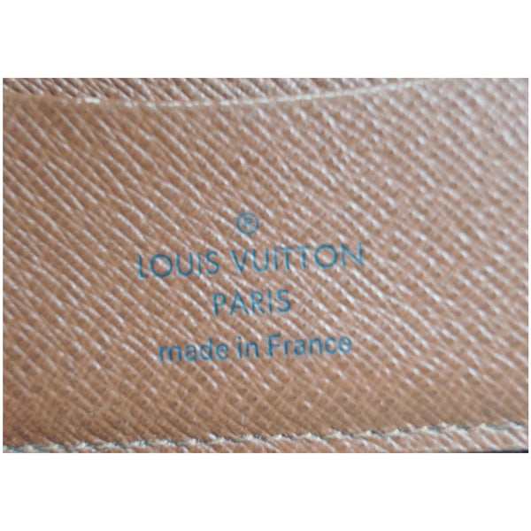 Louis Vuitton Monogram Zippy Canvas Organizer Wallet  with logo