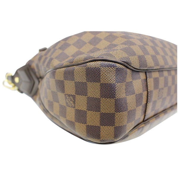 Louis Vuitton Damier Ebene Evora MM Tote Shoulder Bag- lv tag