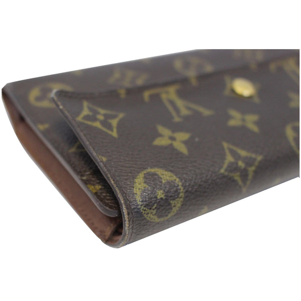 louis Vuitton Porte Tresor International Wallet made of leather
