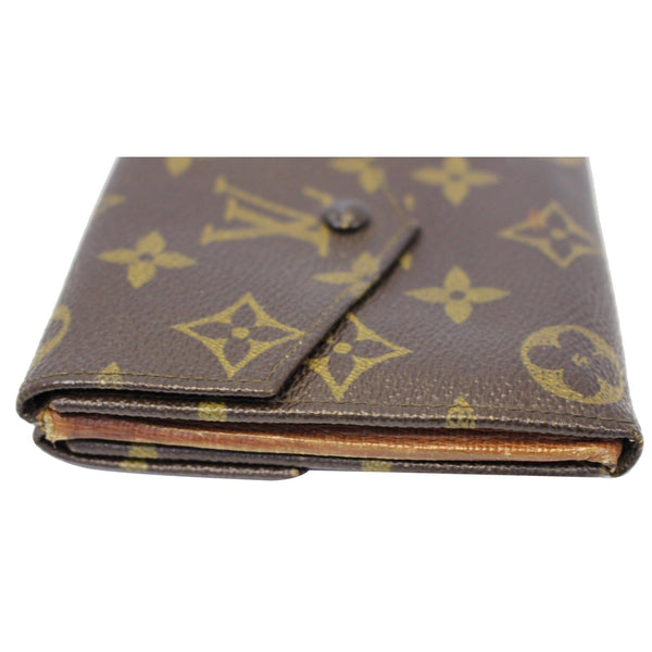 Louis Vuitton Wallet Monogram Canvas Vintage Flap for sale