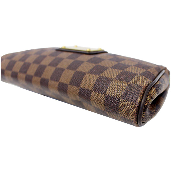Louis Vuitton Pochette Eva - Lv Eva Clutch Damier Bag - back view
