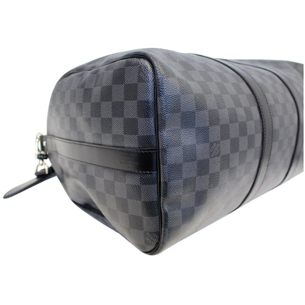 Louis Vuitton Keepall 45 Damier Bandouliere Travel Bag - graphite color