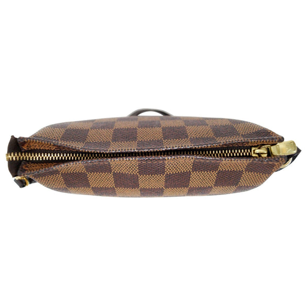 Louis Vuitton Damier Ebene Truth Makeup Pouch Bag - bottom view
