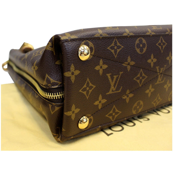LOUIS VUITTON Voltaire Monogram Canvas Shoulder Bag Brown-US