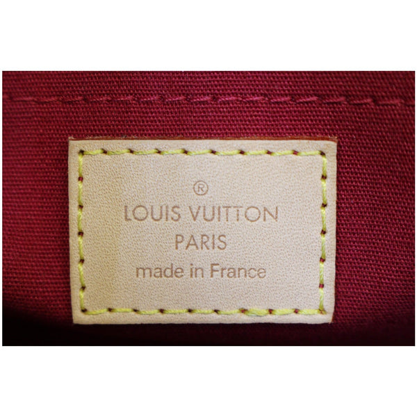 Louis Vuitton Rosewood - Lv Monogram Vernis Shoulder Bag - lv logo