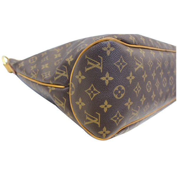 Louis Vuitton Delightful MM Monogram Tote Bag - side view