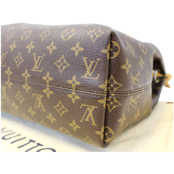 Louis Vuitton Graceful MM - Lv Monogram Shoulder Bag - side view