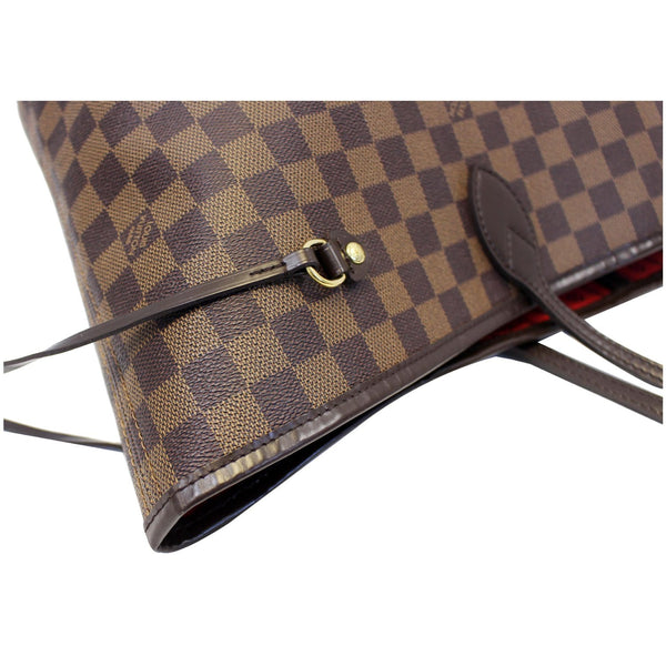 LOUIS VUITTON Neverfull GM Damier Ebene Tote Shoulder Bag Brown-US