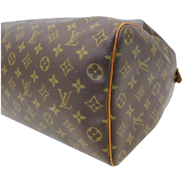 Louis Vuitton Speedy 35 - Lv Monogram - Lv Satchel Bag - side view