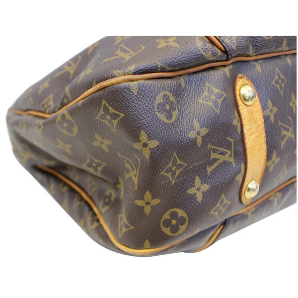 Louis Vuitton Galliera GM Shoulder Tote Bag - left side view