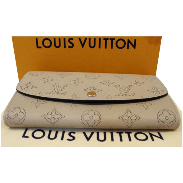 LOUIS VUITTON Iris Mahina Wallet Ivory-US