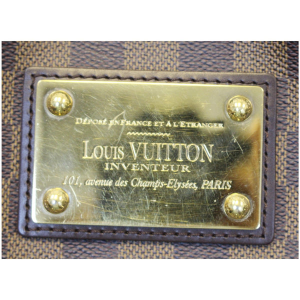 Lv Thames PM Damier Ebne Bag Golden hardware