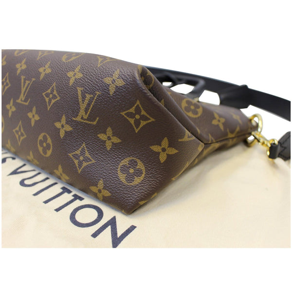 Louis Vuitton Flower Tote Zipped PM Monogram Shoulder Bag black