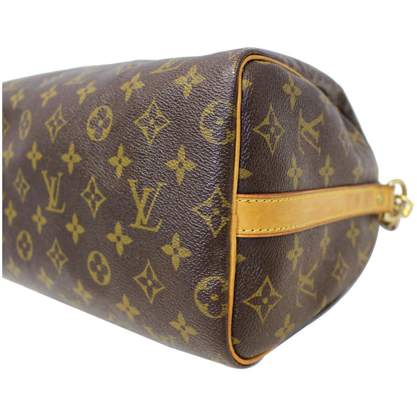 LOUIS VUITTON Speedy 25 Bandouliere Monogram Canvas Shoulder Bag Brown-US