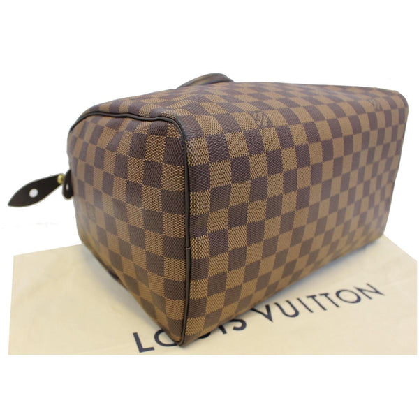 LOUIS VUITTON Speedy 30 Damier Ebene Satchel Bag Brown-US